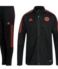 Bayern München Trainingsanzug schwarz