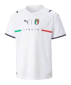 puma italien em-trikot 2021 kinder weiss