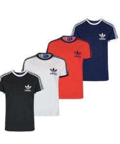 adida originals classic 3-stripes t-shirt herren