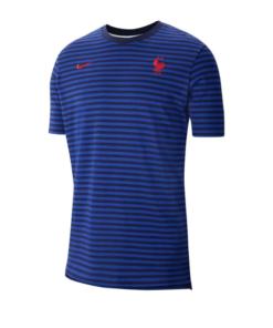 Frankreich Nike Air Top T-Shirt Blau