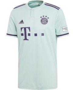 adidas fc bayern münchen trikot away 18-19 herren hellgrün