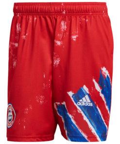 fc bayern münchen adidas human race shorts fc herren