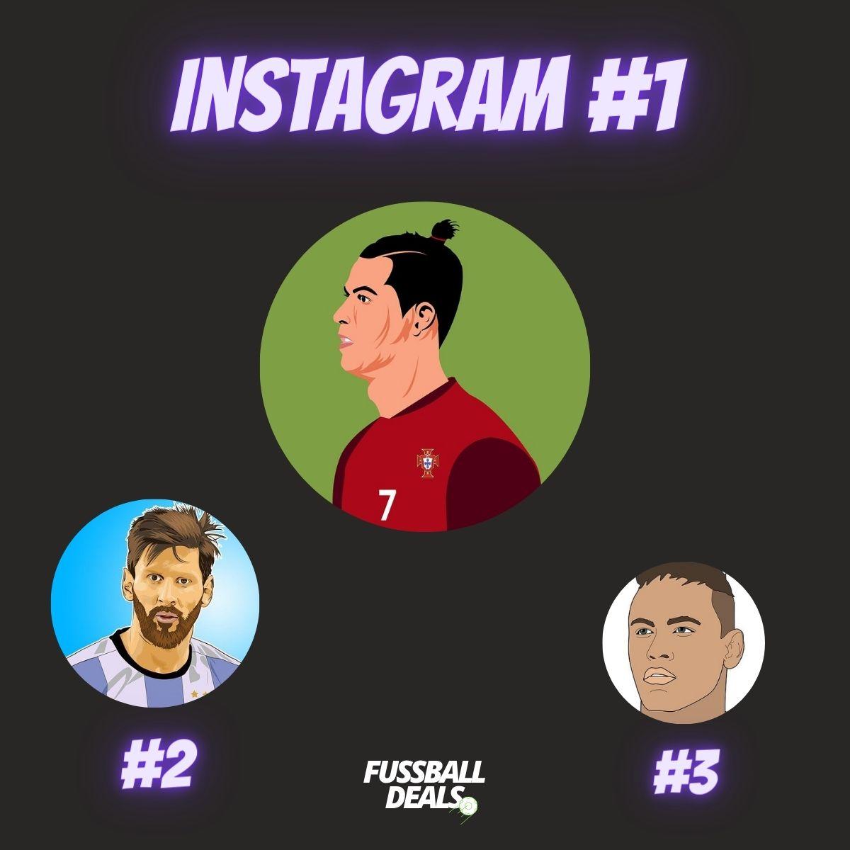 meiste follower instagram spieler fußball