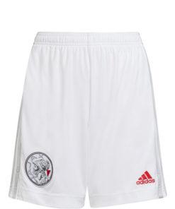 adidas ajax amsterdam shorts home 21-22 kinder