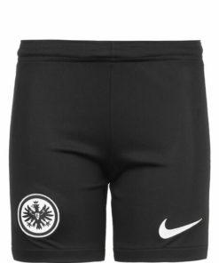 nike eintracht frankfurt shorts home 21-22 kinder schwarz