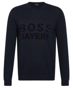 fc bayern boss pullover schwarz